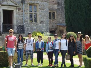 Students at Avebury Manor