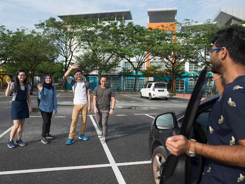 The Malaysia campus