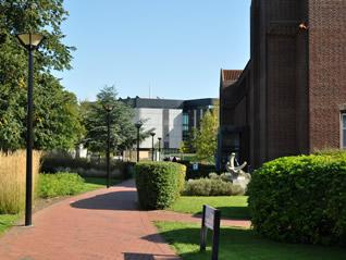 landscaped campus