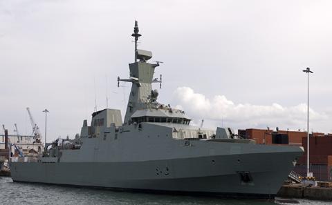 BAE Warship
