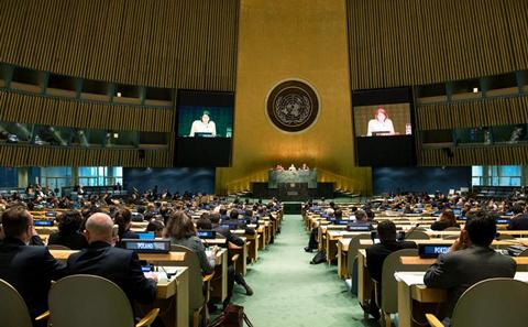 The UN Assembly