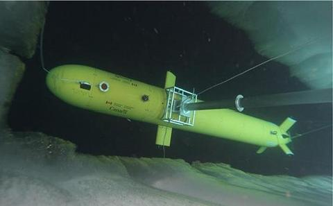 ISE Explorer being deployed in the Arctic for project Cornerstone missions in 2010.