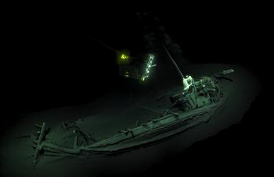 Image of world's oldest shipwreck