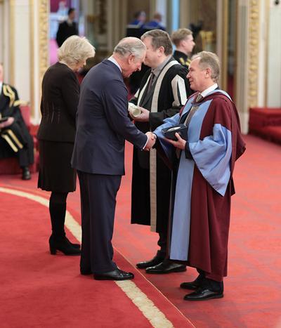 Presentations by Prince Charles