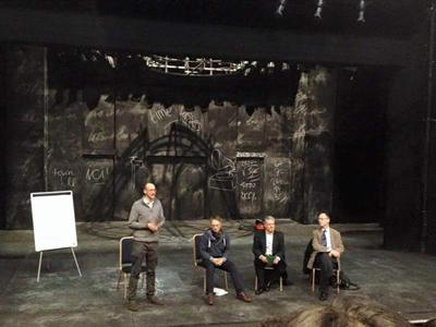 The talk at the Nuffield Theatre