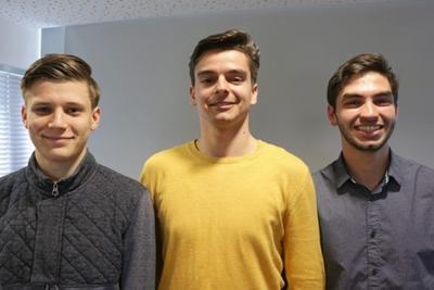 Mauro, Przemek and Maciej