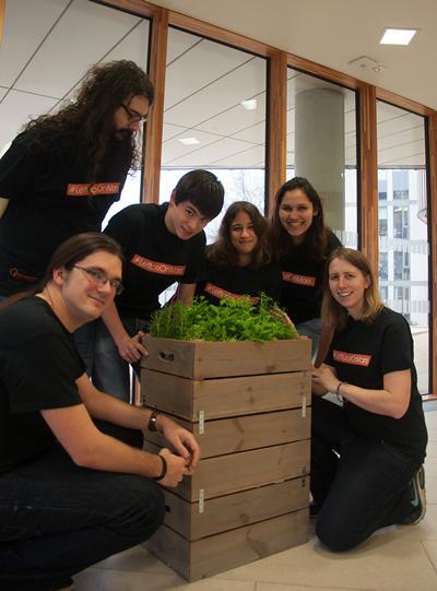 The #LettuceOnMars team