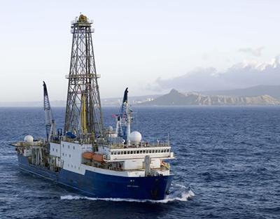 IODP vessel