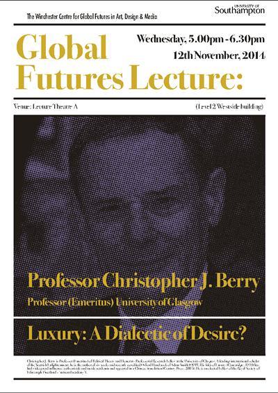 Professor Christopher J. Berry