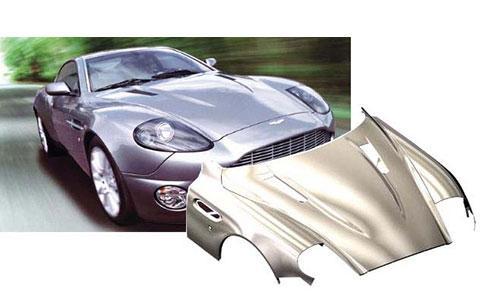 Superplastic formed aluminum