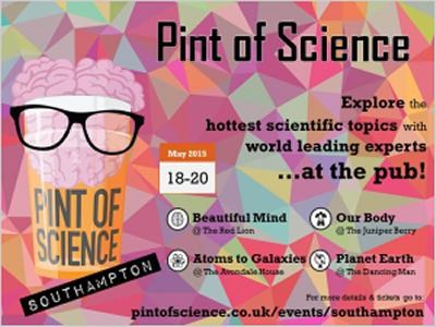 Pint of Science hits Soton in May