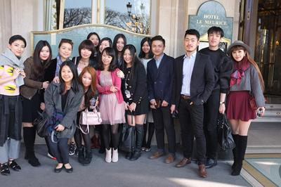 LBM Students at Palais Le Meurice