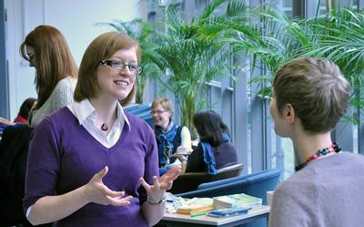 Humanities postgraduate students