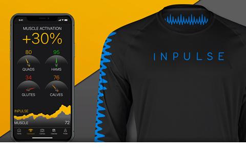 Inpulse app and shirt