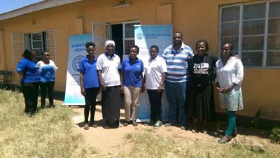 Clinicians in Kisumu, Kenya