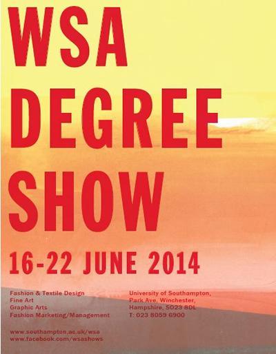 WSA 2014 degree show