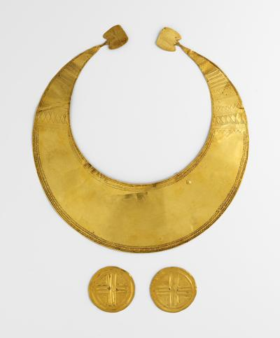 Lunula, National Museum of Ireland