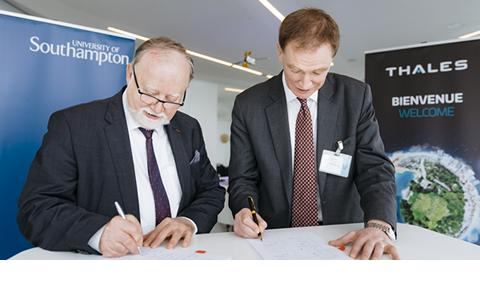 Major partnership with Thales