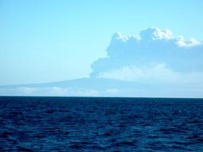 Eyjafjallajökull erupting in May