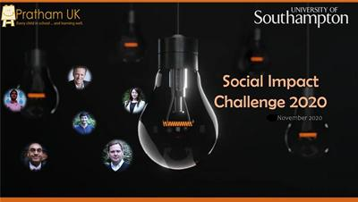 Social Impact Challenge poster