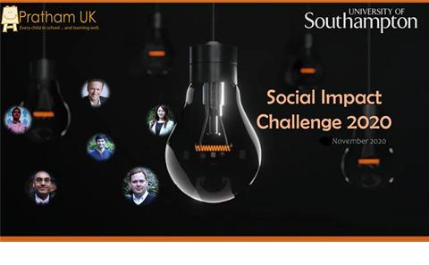 Social Impact Challenge poster