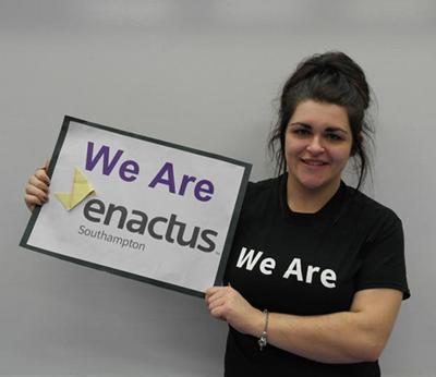 Rachel Willey, Enactus finalist