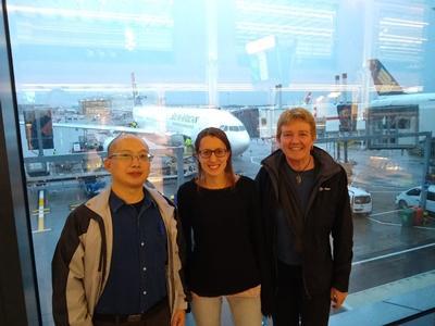 CHERISH Team en route to SA