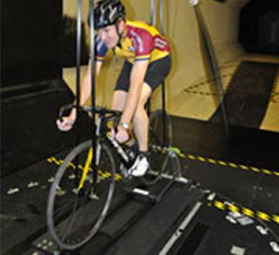 Dr Forrester wind tunnel testing