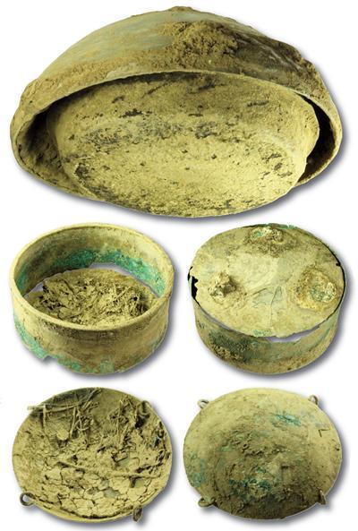 Pewsey Roman Hoard Vessels