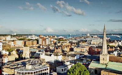 Southampton skyline