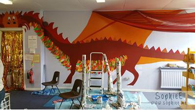 Sophie's Dragon Entrance