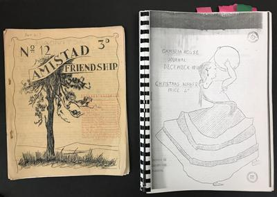 Amistad and Cambria House Journals