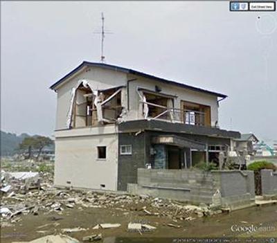 After image of damage in Ishinomaki