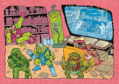 Comic Picture by Łukasz Kowalczuk