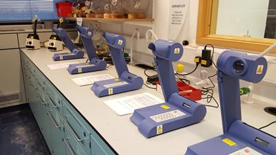 Chemistry lab equipment