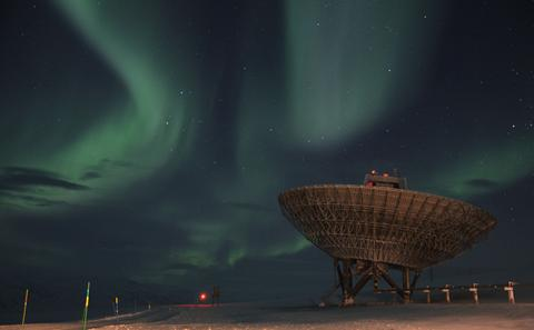 Auroral image from Norway