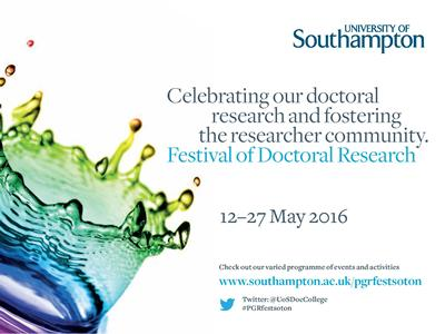 Festival of Doctoral Research