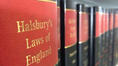 Halsbury Law books