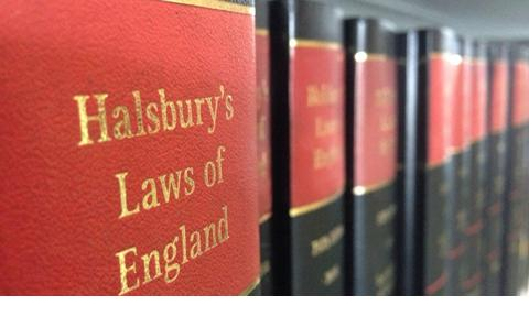 Halsbury Law books