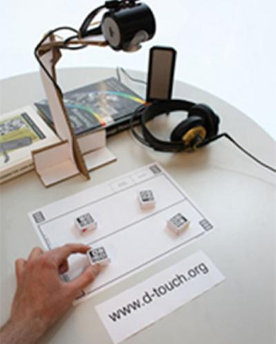 Audio d-touch system
