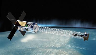 Geogmagnetic monitoring satellite