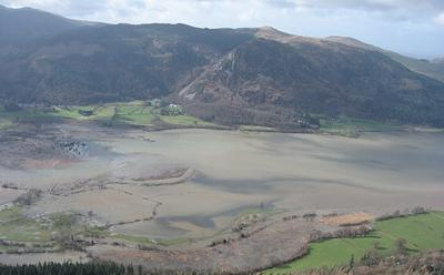 Flooded Lake Bassenthwaite