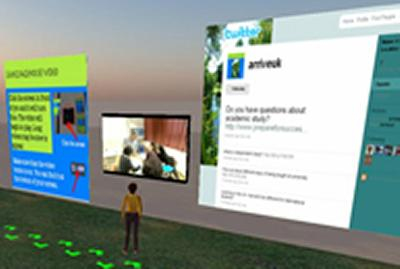 E-languages and second life