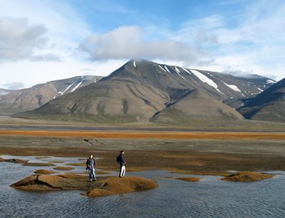Fieldwork in Svalbard