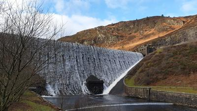 Caban Coch Dam, Wales