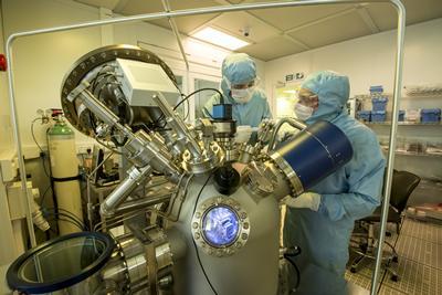Optoelectronics clean room
