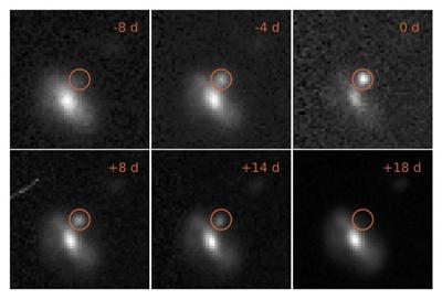 Images of transient event