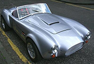 AC Cobra electric test car