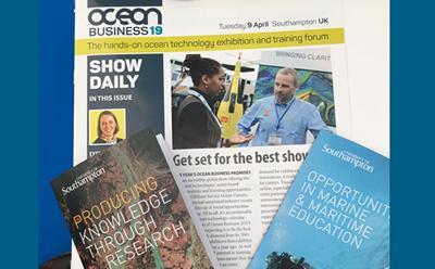 Advert for Ocean Business