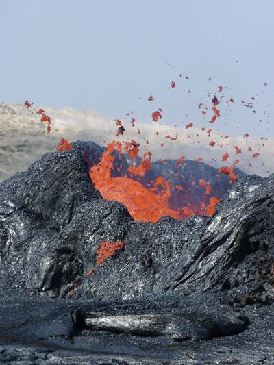 Magma often seen at magmatic rifted